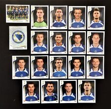 Panini FIFA World Cup Brazil 2014 Complete Team Bosnia-Herzegovina + Foil Badge