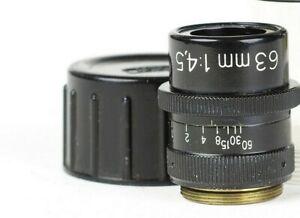 Lens Macro Zeiss West  Germany Luminar 63mm / 4.5