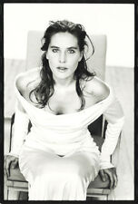 Photo Jean François Jonvelle Tirage Original Mathilde Seigner Vers 1990