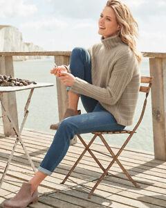 NWT Garnet Hill Essential Girlfriend Jeans 27 Organic Cotton