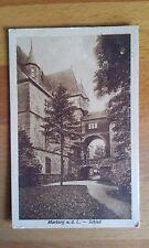 """AE07 Ansichtskarte """"Marburg a. d. L. - Schloß"""""""
