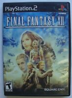 FINAL FANTASY XII 12 PS2 SONY PLAYSTATION 2 GAME  *