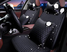 luxury PU Leather Auto Car Seat Cover Seat Cushion Front/Rear Full Set accessory