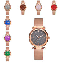 Women Casual Watch Fashion Quartz Stainless Steel Band Watch Analog Wrist Watch