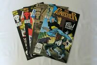 MARVEL COMICS The Punisher VOL. 2 issues 23, 57, 78, 79 year 1989-93 collectible