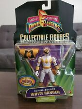 Mighty Morphin Power Rangers Collectible Figures Super Legends White Ranger