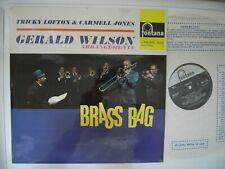 Tricky Lofton & Carmell Jones Gerald Wilson. Brass Bag FONTANA 688111 ZL MINT