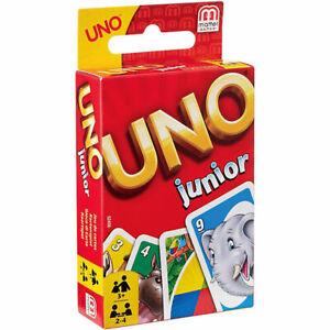 Mattel UNO Junior Kinder Kartenspiel Gesellschaftsspiel