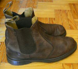 Dr. Martens 2976 Mens Chelsea Brown Boots UK 9.5, EU 44
