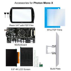 DE Anycubic FEP Films / 4K-Bildschirm / Resin Tank / Bauplatte für Photon Mono X