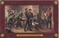 uralte AK, Verkündigung des Todesurteil an die elf Schill'schen Offiziere, 1809