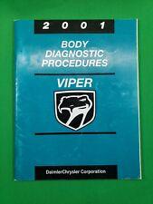 2001 Dodge Viper Shop Service Manual Body Diagnostic Procedures