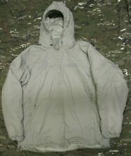 NEW GENUINE US ARMY PRIMALOFT ADS LEVEL 7 ECWCS PARKA JACKET. ACU/UCP GREY. L-R