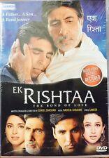 Ek Rishta - Amitabh Bachchan, Akshay Kumar - Hindi Movie DVD Region Free / Subti