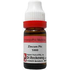 3 X Dr. Reckeweg Zincum Picricum 1000 CH (11ml) HOMEOPATHIC REMEDY ( PACK OF 3 )