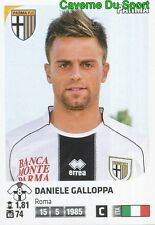 400 DANIELE GALLOPPA ITALIA PARMA.FC STICKER CALCIATORI 2012 PANINI