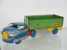 1950'S WYANDOTTE PRESSED STEEL CONSTRUCTION CO. SEMI TRUCK & TRAILER TOY VINTAGE