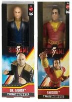 "MATTEL DC COMICS SHAZAM 12"" ACTION FIGURES - CHOICE OF 2 CHARACTERS - NEW BOXED"