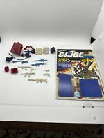 GI Joe Accessory Pack #4 COBRA Battle Pack ARAH Weapons W/ Cardback