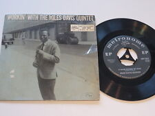 "Miles Davis Quintet  Workin with 7""-Si Metronome MEP 9027  Vinyl:worn Cover:good"