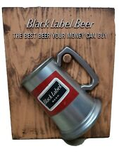 Carling Black Label Mug Stein Advertising Sign The Best Beer Your Money Can Buy