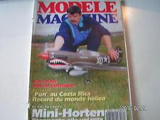 **a Modèle Magazine n°489 Plan de la Mini Horten / Moteur Léo 25 EP B ABC