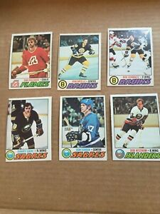 1977-1978 OPC PARTIAL SET (Lot of 131, No Duplicates)