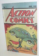 DC COMICS SUPERMAN ACTION COMICS #1 1ST ISSUE REPRINT NESTLE QUIK PREMIUM 1987