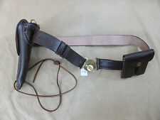 Us Army ww2 set Leather Belt holster Colt m1911 lederholster bolsa transporte