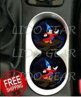 Sorcerer Mickey Car Coasters Disney Inspired Car Coasters Disney Car Coaster