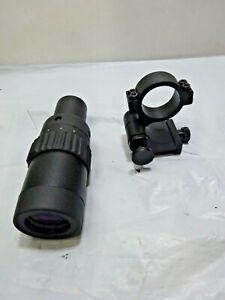 Feyachi M36 1.5X - 5X Red Dot Sight Optics Magnifier with Flip to Side Mount