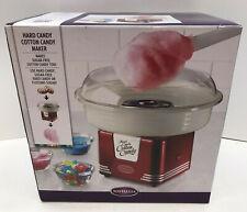 Nostalgia Pcm405retrored Cotton Candy Maker Household Use Retro Series Red