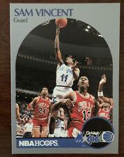 1990-91 NBA Hoops Sam Vincent #223 Michael Jordan Wears #12 Jersey