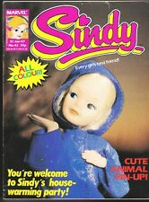 SINDY # 42 RARE MARVEL UK COMIC TOY DOLLS PEDIGREE ALICE IN WONDERLAND COLOR