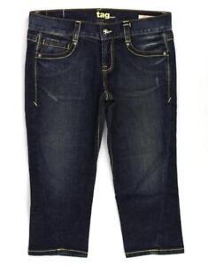 TAG JEANS Dark Blue Cropped/Capri, Size 29 Womens, ID# 1073, New No Tag