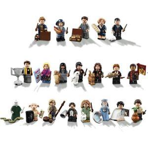 Harry Potter Minifigures Ron Hermione Voldemort Dumbledore Cedric Luna Neville