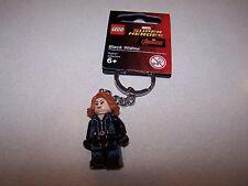 Lego Black Widow Mini-Figure Keychain Marvel Avengers FREE SHIPPING