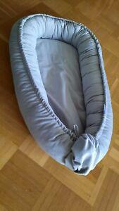 Babynestchen von Kospu für Babybett Babykokon als Kuschelnest schaffen.