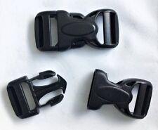 5 x Klickverschluß Steckschließer 20mm Rock Lockster Dual Adjust von Duraflex
