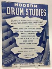 1950 Modern Drum Studies Sternburg 86 Pages plus Other Percussion Instruments
