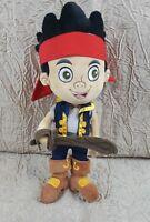 "Disney Store Jake and The Neverland Pirates Jake 14"" Plush Toy"