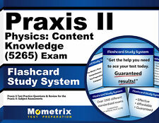 Praxis II Physics: Content Knowledge (5265) Exam Flashcard Study System