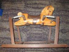 1950's WONDER PONY SPRING ROCKING HORSE