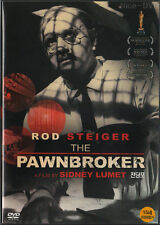 The Pawnbroker (1964) DVD, NEW!! Rod Steiger, Sidney Lumet