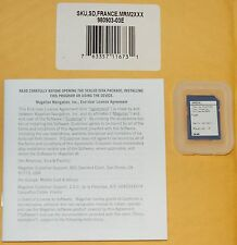 NEW Magellan RoadMate GPS 2200T Crossover Map Software Update (1) SD Card FRANCE