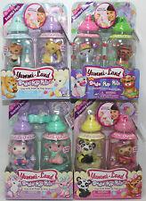 Soda Pop Baby Pet YUMMI-LAND 4 sets of 2 Bottles 8 Total Pets MGA retired NEW