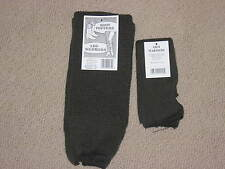 Leg warmers  2 pr olive green NWT Warm Made in the USA Thick Bulky Knit Free S/H