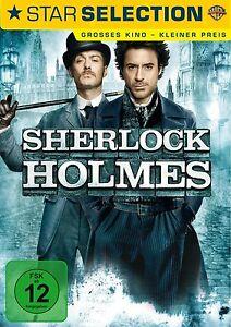 SHERLOCK HOLMES (2009) Robert Downey Jr., Jude Law OVP