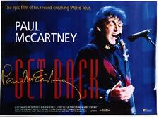 GET BACK 1991 Paul McCartney Richard Lester UK QUAD POSTER