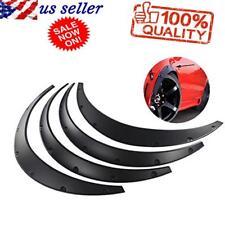4PCS Car Fender Flares Arch Wheel Eyebrow Protector Mudguards Sticker Universal